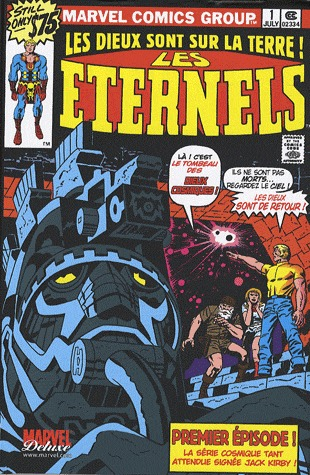 Les Eternels # 1 TPB Hardcover - Marvel Deluxe - Issues V1
