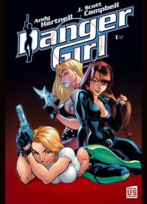 Danger Girl édition TPB Hardcover (cartonnée)