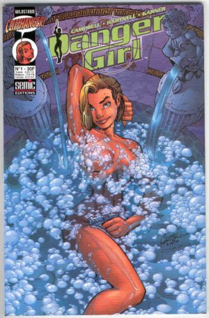 Danger Girl édition Kiosque