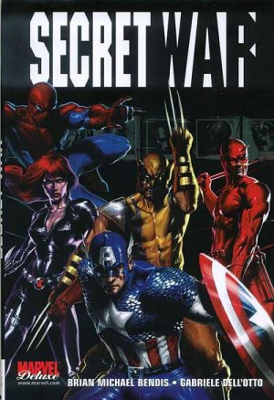 Marvel Mega édition DOUBLON SÉRIE Secret War - TPB HC - Marvel Deluxe