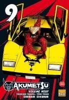 couverture, jaquette Akumetsu 9  (Taifu Comics)