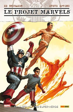 Le Projet Marvels édition TPB softcover (souple)