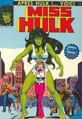 Miss Hulk édition TPB Hardcover (1980 - 1983)