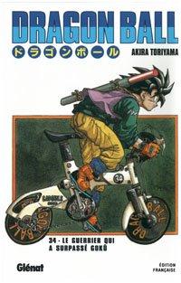 couverture, jaquette Dragon Ball 34 Édition originale - Simple  (Glénat Manga)