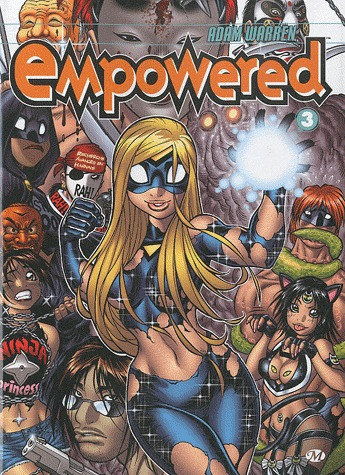 Empowered édition TPB softcover (souple)