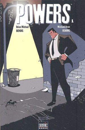 Powers édition TPB Softcover (souple)