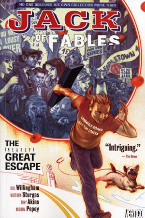 Jack of Fables édition TPB softcover (souple)
