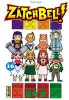couverture, jaquette Zatch Bell 16  (kana)