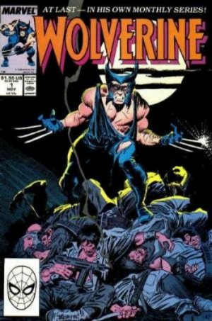 Wolverine # 1 Issues V2 (1988 - 2003)