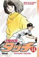 couverture, jaquette Touch - Theo ou la batte de la victoire 14  (Glénat Manga)
