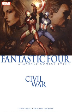 Civil war - Fantastic Four édition TPB Souple