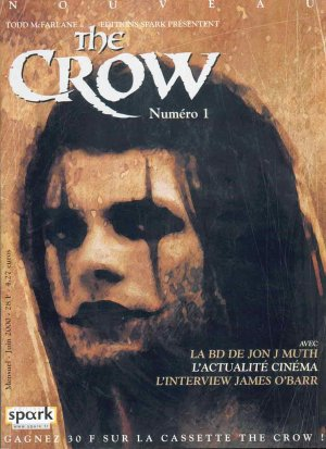 The Crow (O'Barr) édition Magazine