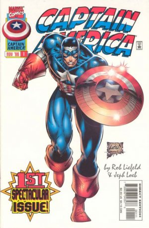 Captain America édition Issues V2 (1996 - 1997)