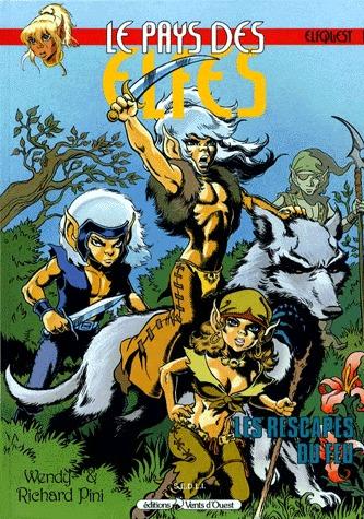 ElfQuest édition Kiosque V2 - Vents d'Ouest BD (1991 - 1999)