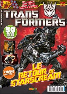 Transformers magazine édition Simple
