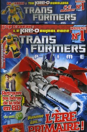 Transformers Prime édition TPB Softcover - Panini Kids (2012)
