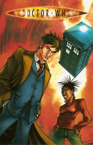Doctor Who édition TPB softcover (souple)