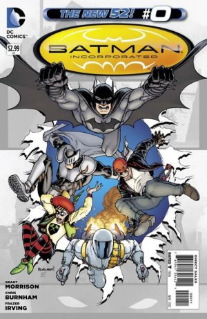 Batman Incorporated # 0 Issues V2 (2012 - 2013) - Reboot New 52