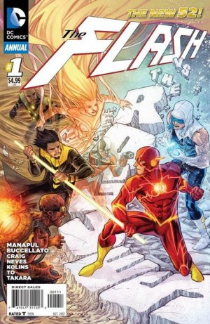 Flash # 1 Issues V4 - Annuals (2012 - 2015)