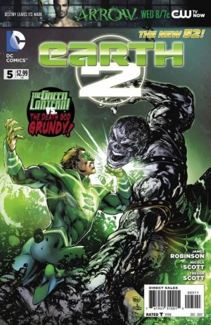 Earth Two # 5 Issues V1 (2012 - 2015)