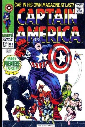 Captain America T.100