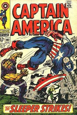 Captain America 102 - The Sleeper Strikes!