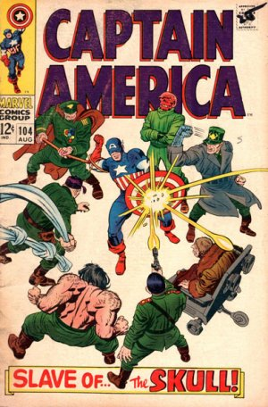 Captain America # 104 Issues V1 (1968 - 1996)