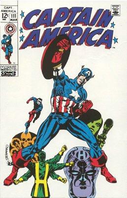 Captain America 111 - Tomorrow You Live, Tonight I Die!