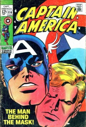 Captain America 114 - The Man Behind the Mask!