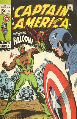 Captain America 117 - The Coming of...the Falcon!