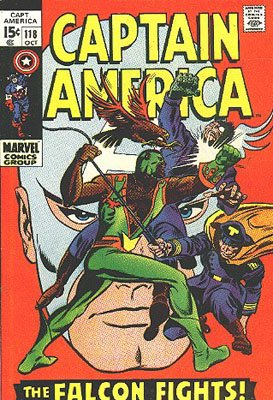 Captain America # 118 Issues V1 (1968 - 1996)