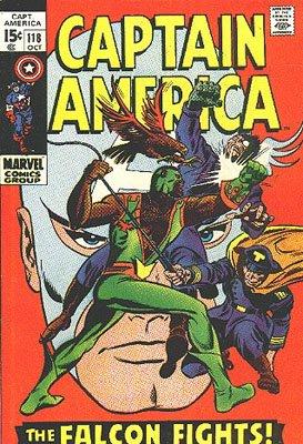 Captain America 118 - The Falcon Fights On!