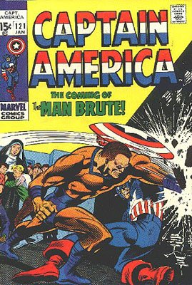 Captain America 121 - The Coming of... the Man-Brute!