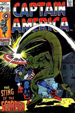 Captain America 122 - The Sting of the Scorpion!