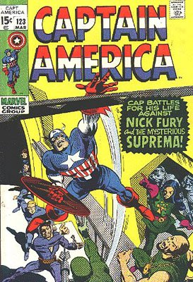 Captain America 123 - Suprema, The Deadliest of the Species!