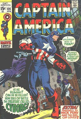 Captain America 124 - Mission: Stop the Cyborg!