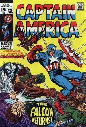 Captain America 126 - The Fate of the Falcon!