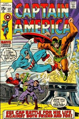 Captain America 127 - Who Calls Me Traitor?