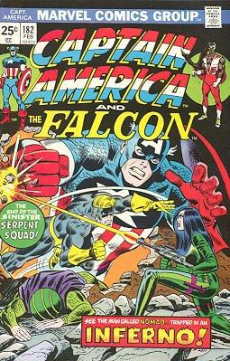 Captain America # 182 Issues V1 (1968 - 1996)