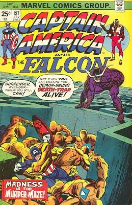 Captain America # 187 Issues V1 (1968 - 1996)