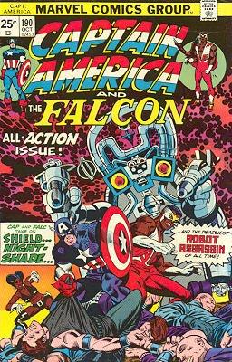 Captain America # 190 Issues V1 (1968 - 1996)