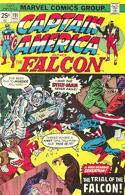 Captain America # 191 Issues V1 (1968 - 1996)