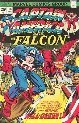 Captain America # 196 Issues V1 (1968 - 1996)