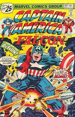 Captain America # 197 Issues V1 (1968 - 1996)