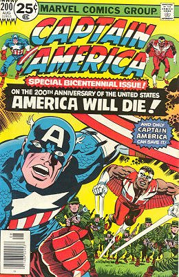 Captain America # 200 Issues V1 (1968 - 1996)