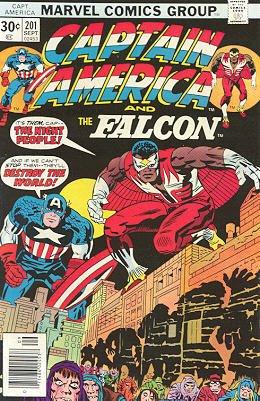 Captain America # 201 Issues V1 (1968 - 1996)