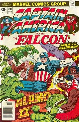 Captain America # 203 Issues V1 (1968 - 1996)