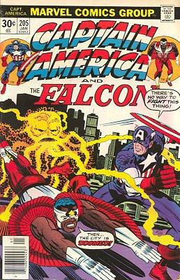 Captain America # 205 Issues V1 (1968 - 1996)