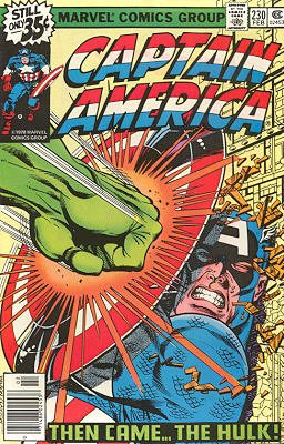 Captain America # 230 Issues V1 (1968 - 1996)
