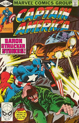 Captain America # 247 Issues V1 (1968 - 1996)